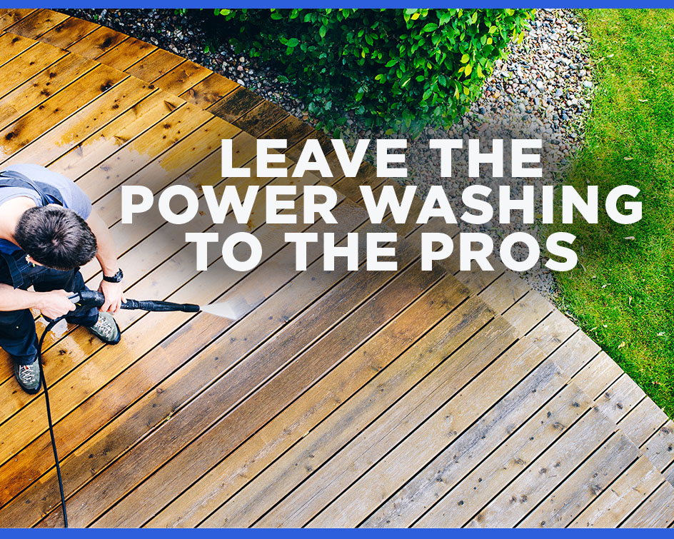 Why Go With Professional Power Washing Vs  DIY? | Westlake